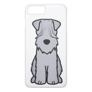 Weich überzogener Wheaten Terrier-HundeCartoon iPhone 8 Plus/7 Plus Hülle
