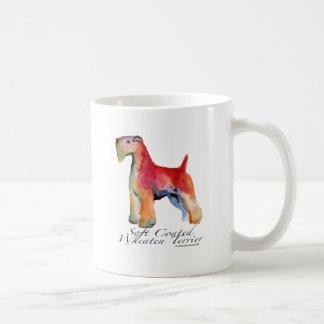 Weich überzogenes Wheaten Terrier Kaffeetasse