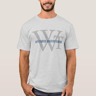 Weich-Überzogenes Wheaten Terrier-Monogramm T-Shirt