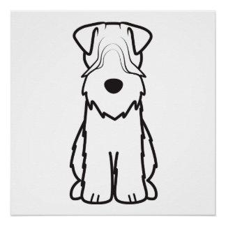 Weich überzogenes Wheaten Terrier Poster