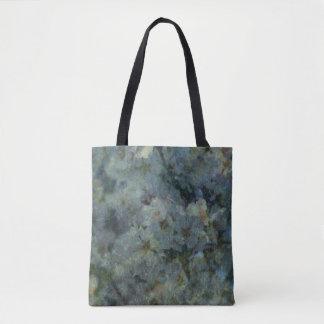 Weiche blaue Obstgartenimpressionist-Entwurf Tasche