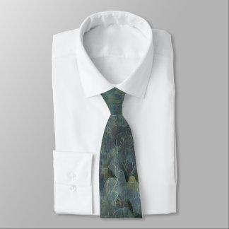 Weiche blaue Obstgartenregular-Krawatte Individuelle Krawatten