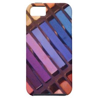 Weiche die Kreide-Pastelle des Künstlers iPhone 5 Etui