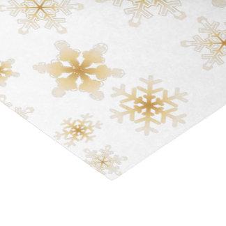Weiche Goldschneeflocken - Seidenpapier