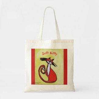 Weiche Kitty-Katze - Taschen-Tasche Tragetasche