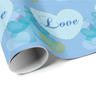 Weiche Liebe Geschenkpapier