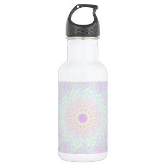 Weiche LiebepastellMandala (groß) Edelstahlflasche