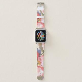 Weiche Mohnblumen I Apple Watch Armband