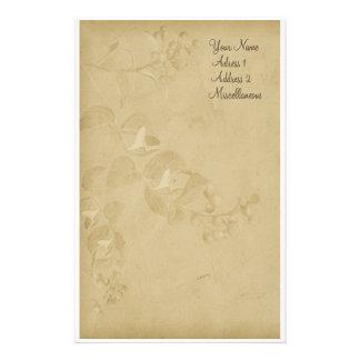 Weiche Natur in TAN Bedrucktes Büropapier