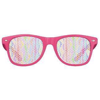 WEICHE PASTELLstreifen Sonnenbrille