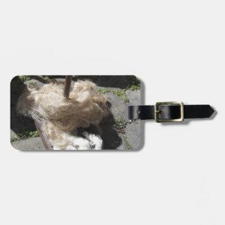 Weiche Rollen der Wollen nannten Umherziehen oder Gepäckanhänger