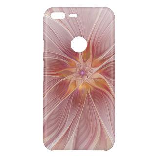 Weiche rosa Blumenabstrakte moderne TraumBlume Uncommon Google Pixel XL Hülle