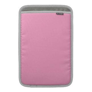 Weiche rosa Farbe MacBook Sleeve
