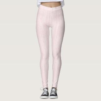 Weiche rosa Gamaschen Leggings