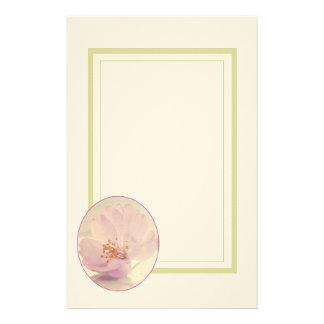 Weiche rosa Kirschblüten-Blume Briefpapier