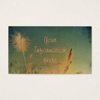 Weiche und hübsche Natur Visitenkarten