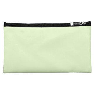 Weicher blasser Sellerie-Grün-Pastell für Kosmetiktasche