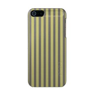 Weicher Farn-grünes und weißes Incipio Feather® Shine iPhone 5 Hülle
