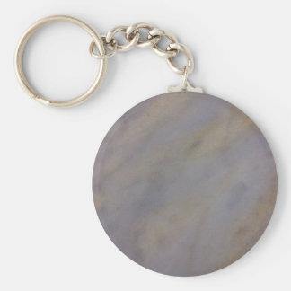 Weicher Felsen -- Gealterter Marmor. Sun und Standard Runder Schlüsselanhänger