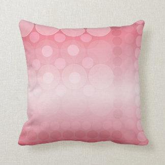 Weicher rosa Traum sprudelt Muster-Kissen/Kissen Kissen