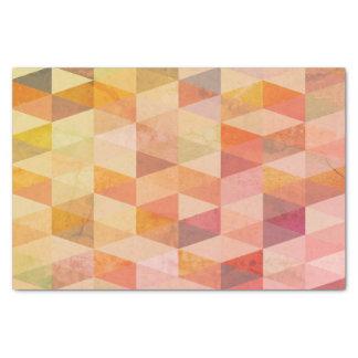 Weiches Dreieck-geometrisches Muster Seidenpapier