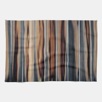 Weiches getontes hölzerne Beschaffenheits-cooles Handtuch