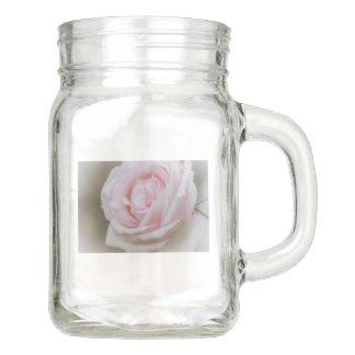 Weiches Rosa Flower.tif Einmachglas