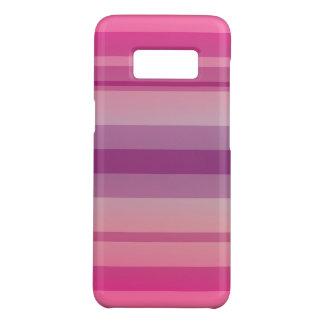 Weiches rosa gestreiftes weiches schneidenSamsung Case-Mate Samsung Galaxy S8 Hülle
