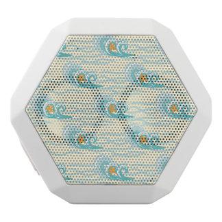 Weiches Wellen-Muster Weiße Bluetooth Lautsprecher