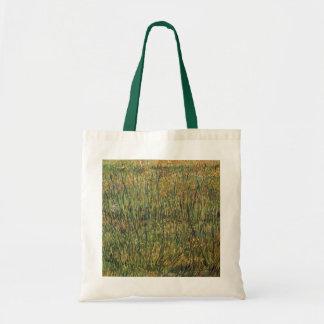 Weide in der Blüte durch Vincent van Gogh, Vintage Tragetasche