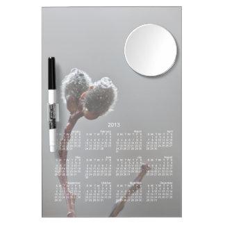 WeideCatkins nach Frühlingsregen Kalender 2013 Whiteboards
