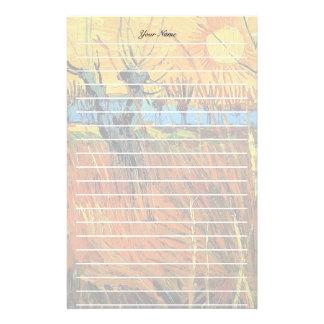 Weiden am Sonnenuntergang, Vincent van Gogh Briefpapier