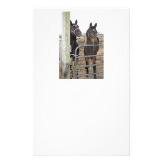 Weiden lassende Pferde Briefpapier