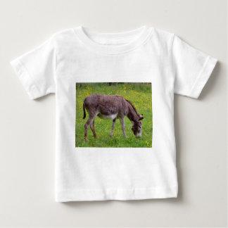 Weiden lassender Brown-Esel Baby T-shirt