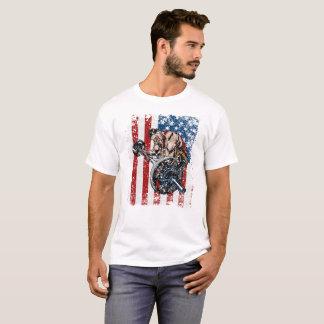 Weightlifter-Prediger-Locken-Turnhalle T-Shirt