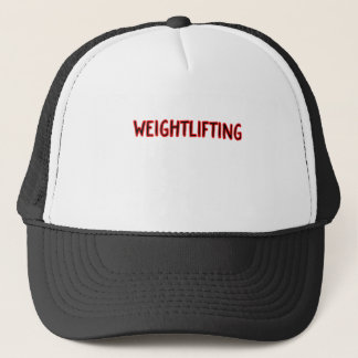 Weightlifting-Entwurf Truckerkappe