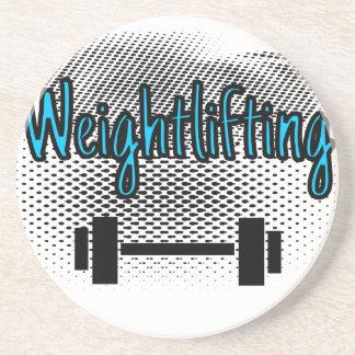Weightlifting Sandstein Untersetzer
