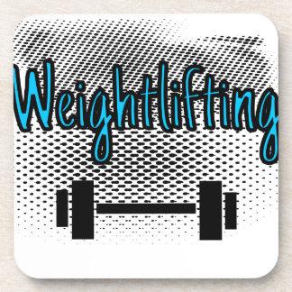 Weightlifting Untersetzer