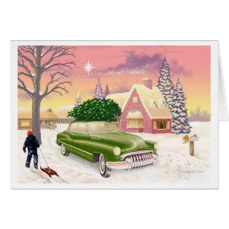 Weihnachten 1951 karte