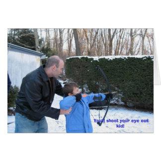 Weihnachten 2006 Jtown027, schießen Sie Ihr Auge Karte