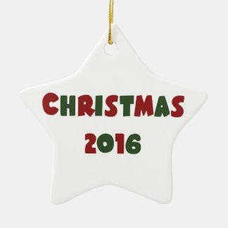 Weihnachten 2016 keramik ornament