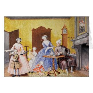 Weihnachten am Königlichen Hof der Kaiserin Karte