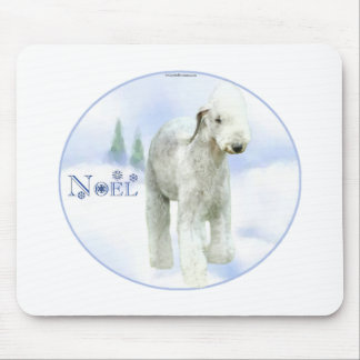 Weihnachten Bedlington Terrier Mauspad