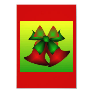 Weihnachten Bell II 12,7 X 17,8 Cm Einladungskarte