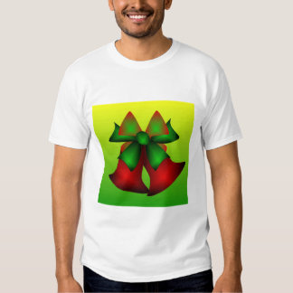 Weihnachten Bell im Schwarzen T Shirts