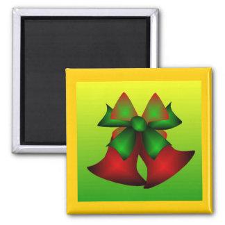 Weihnachten Bell IV Magnets