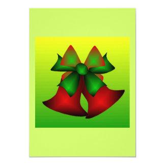 Weihnachten Bell V 12,7 X 17,8 Cm Einladungskarte