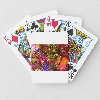 Weihnachten Bicycle Spielkarten