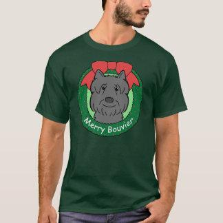 Weihnachten Bouvier DES Flandres T-Shirt