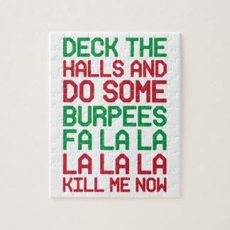 Weihnachten Burpees Puzzle